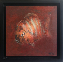 Reef Fish with Frame